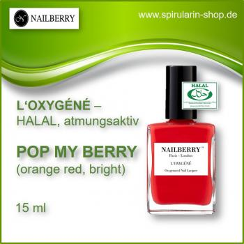 "NAILBERRY L'Oxygéné ""Pop my berry"" 