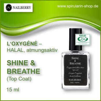 "NAILBERRY L'Oxygéné ""Shine & Breathe"" Top Coat"