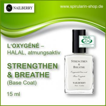 "NAILBERRY L'Oxygéné ""Strengthen & Breathe"" Base Coat"