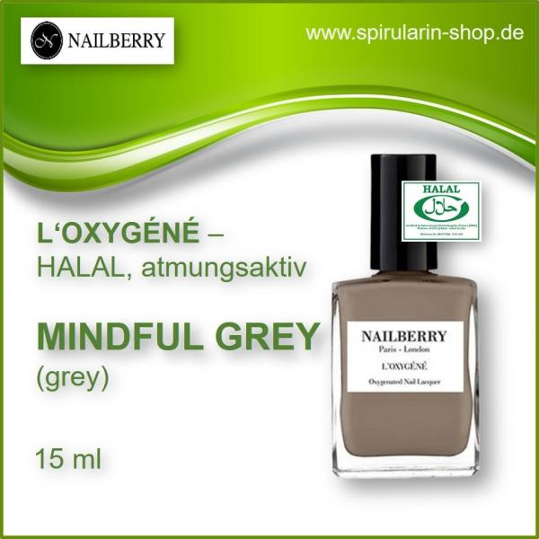 Nailberry L'Oxygéne Mindful Grey